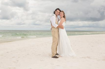 Wedding Portrait Pensacola Florida Fort Pickens